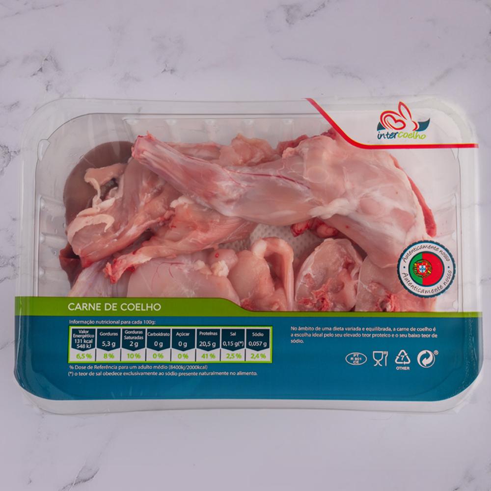 Carne de coelho à caçador